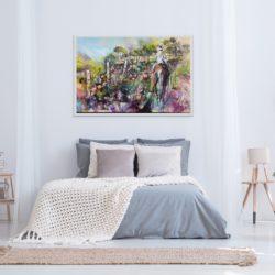 Acrylic & Charcoal on Canvas 600 x 920