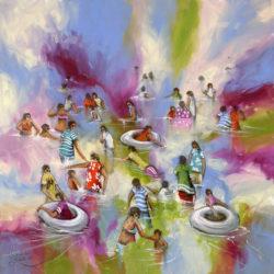 Acrylic & Charcoal on Canvas 800 x 800
